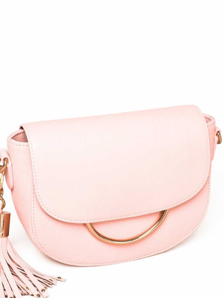 Mila Leather Saddle Bag