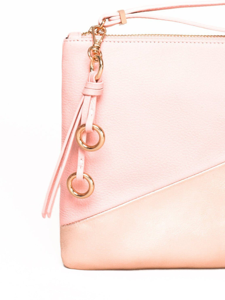 Elle Leather Wristlet