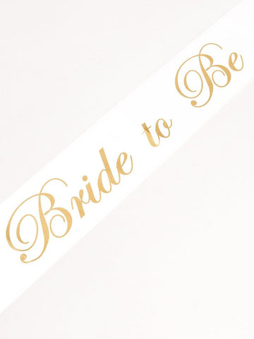 Bridal Party Sash