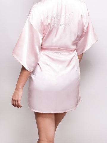 Bridal Party Robe - Maid Of Honour - M/L