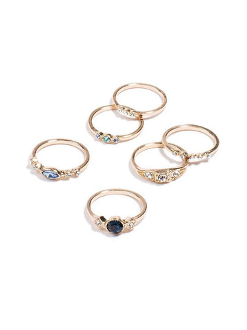 Multi Stone Ring - Medium