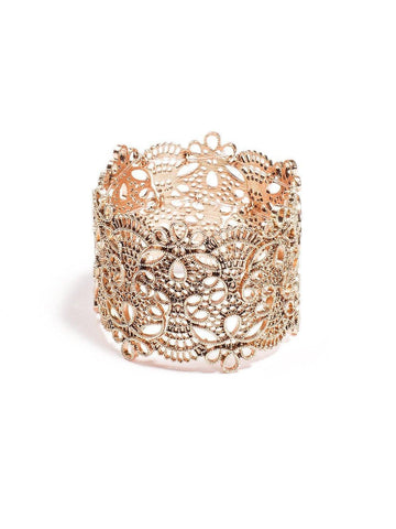 Filigree Pattern Stretch Wristwear