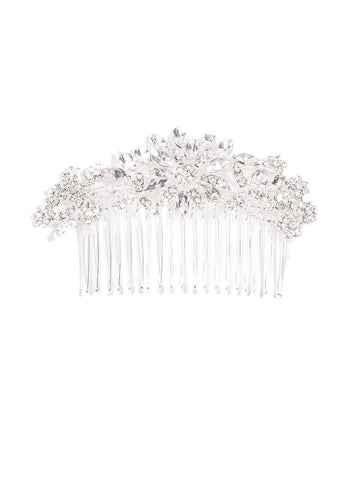Diamante Stine Flower Hair Comb