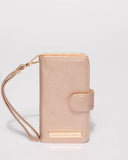 Rose Gold Saffiano Iphone 6, 7 & 8 Purse
