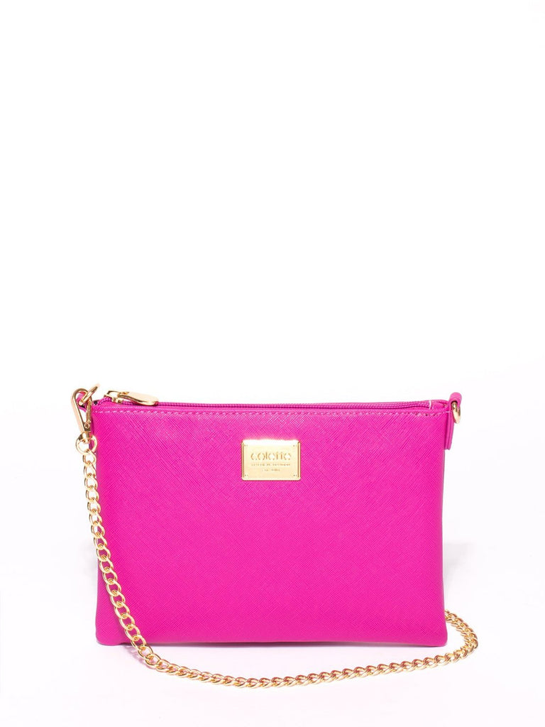 Plain Peta Chain Crossbody