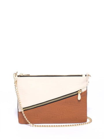 Peta Zipper Crossbody