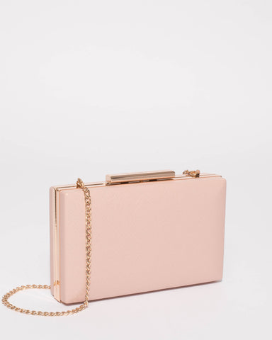 Pink Jaimi Clutch Bag