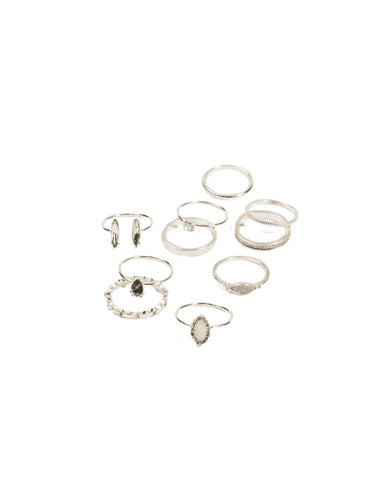 Fine Mixed Ring Pack - Medium