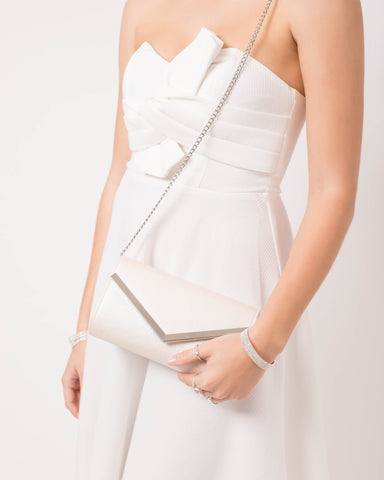 Ivory Bride Tribe Cindy Clutch Bag