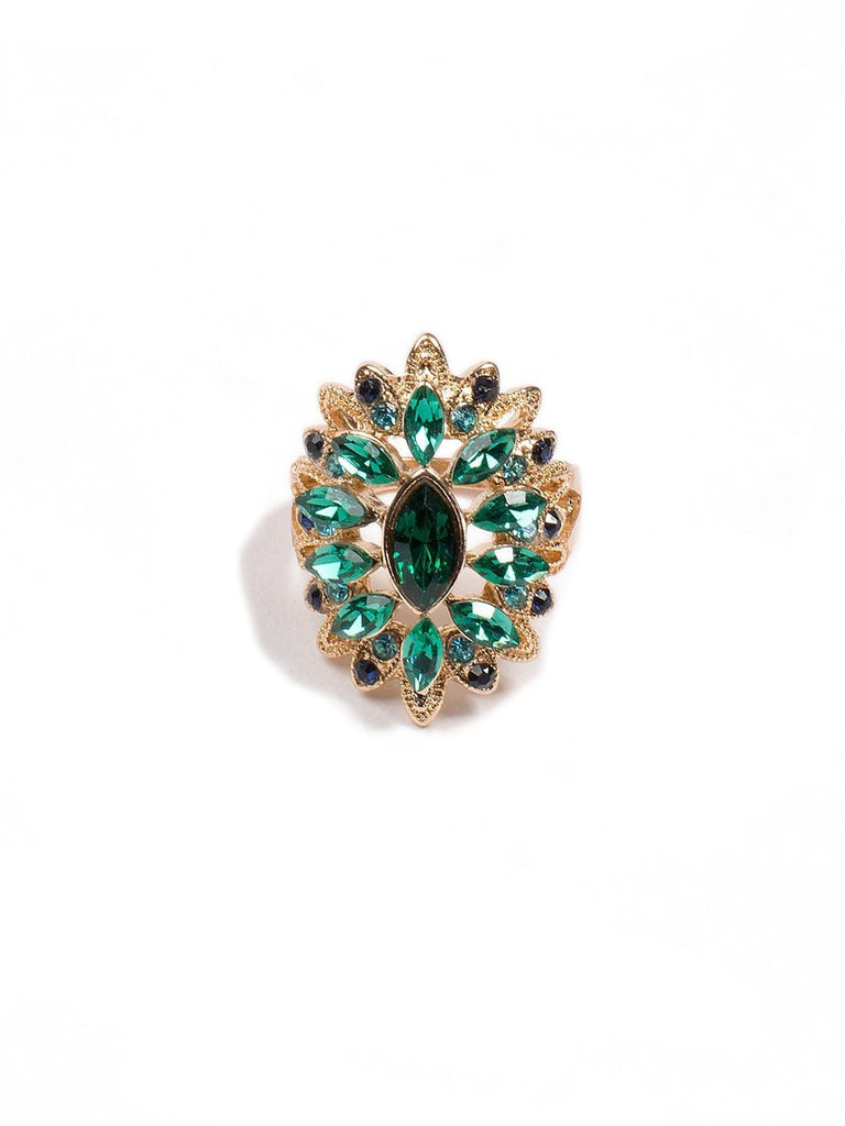 Multi Stone Cocktail Ring - Large