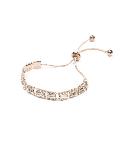 Diamante Cup Chain Adjustable Wristwear