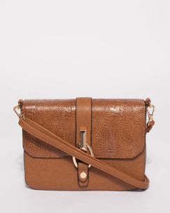 Elissa Tan Textured Crossbody Bag