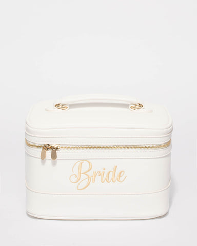 White Bride Cosmetic Case