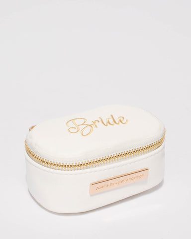 White Bride Jewel Purse