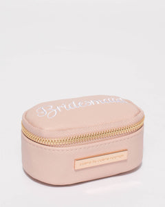 Pink Bridesmaid Jewel Purse