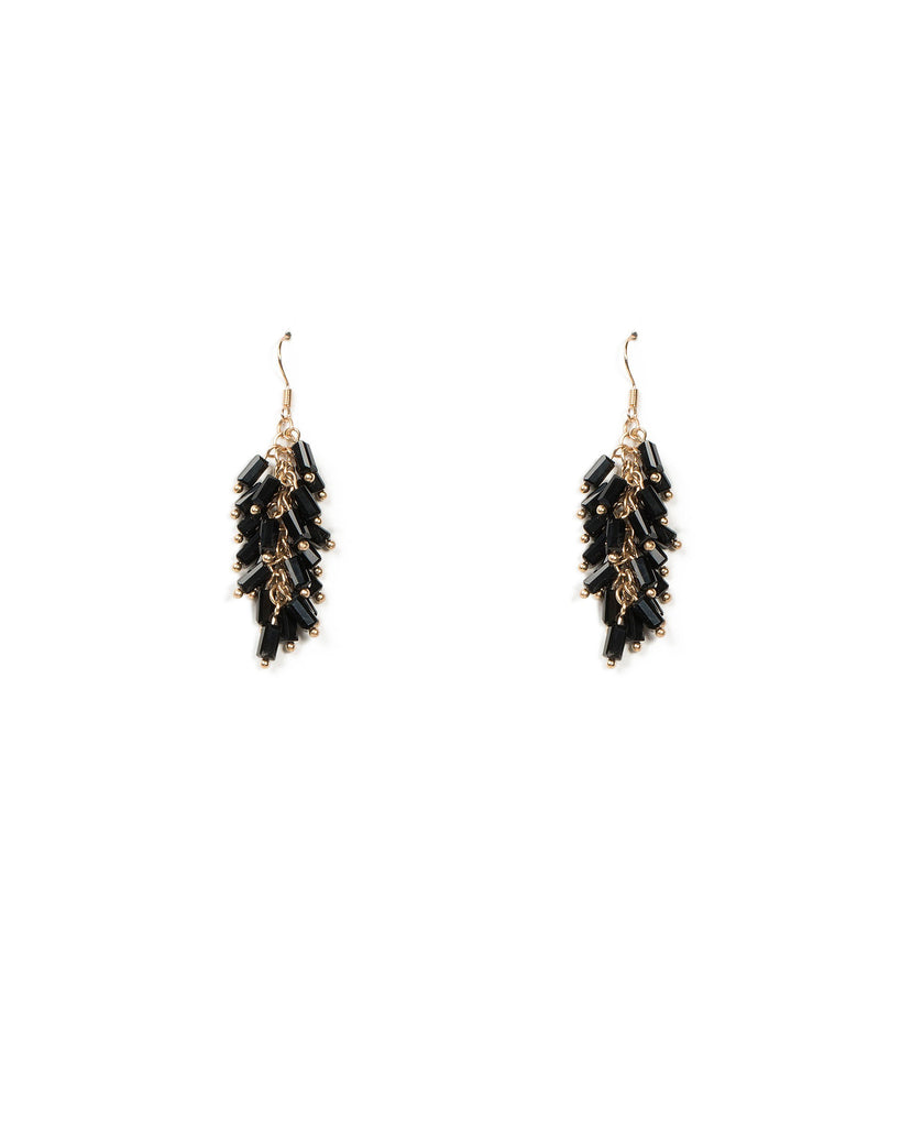Bar Bead Drop Earrings
