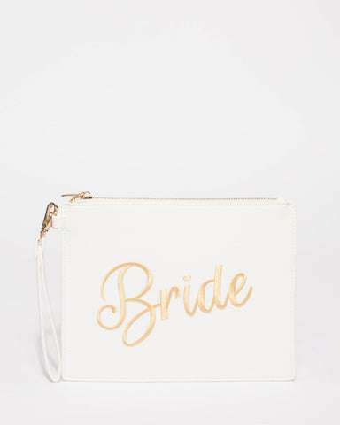 White Bride Clutch Bag