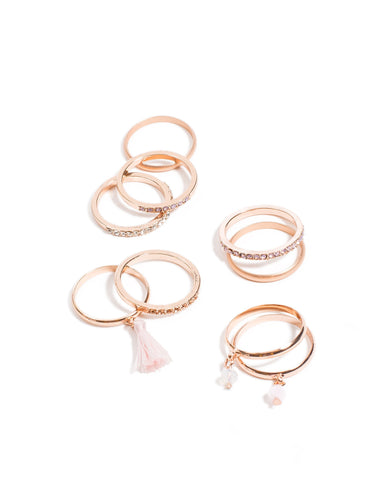 Detailed Multi Ring Pack - Large