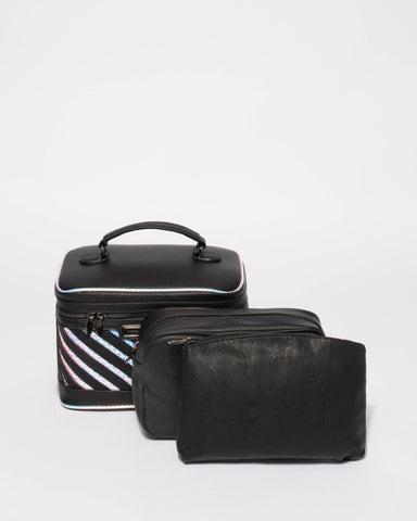 Limited Edition Black Cosmetic Case
