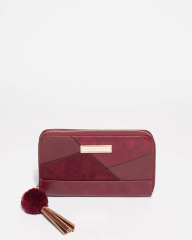 NINA PATCH TRAVEL WALLET