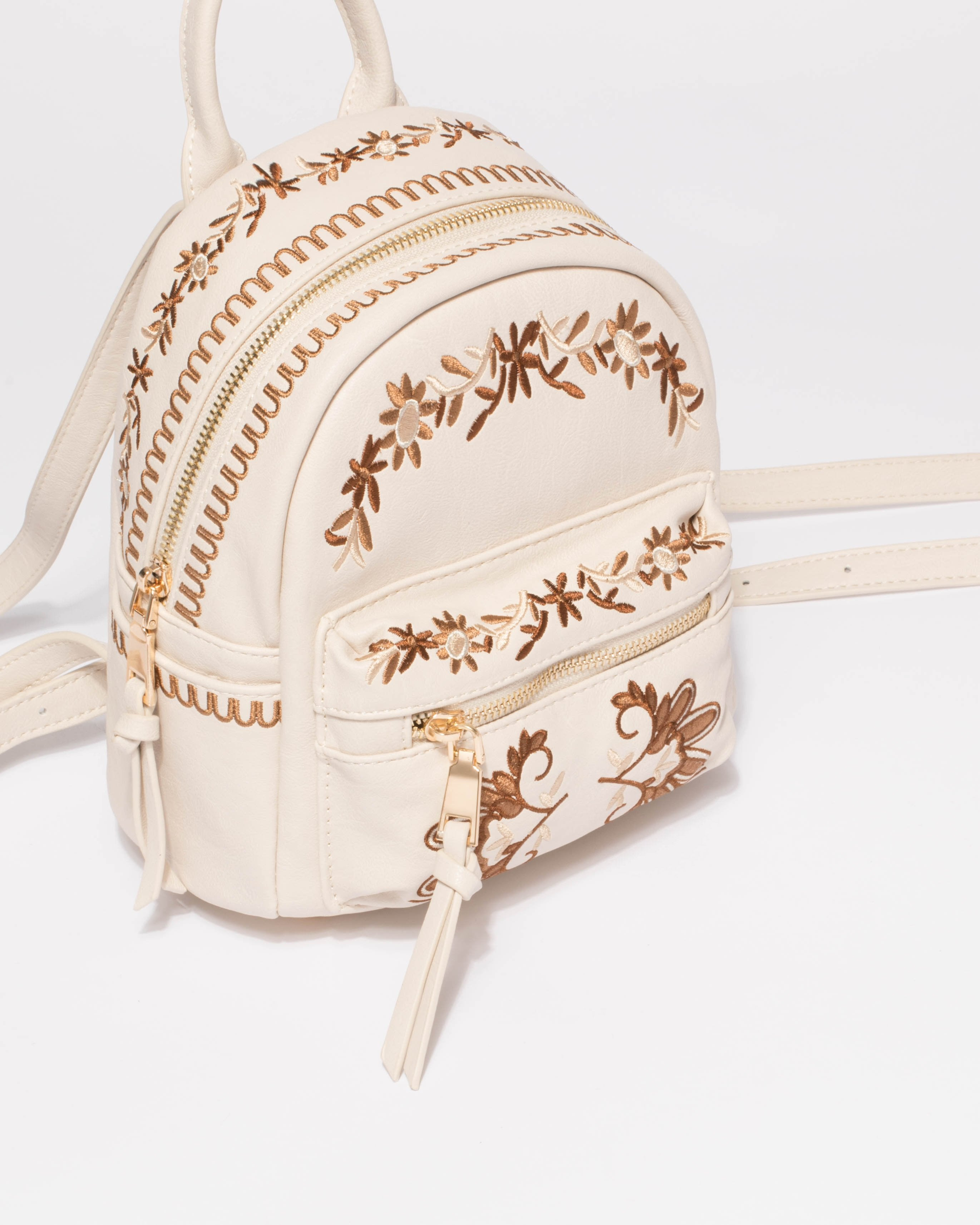 New Look Floral Mini Backpack - CEAGESP