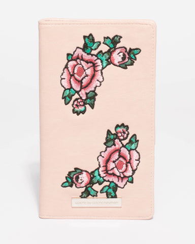Monica Floral Travel Wallet