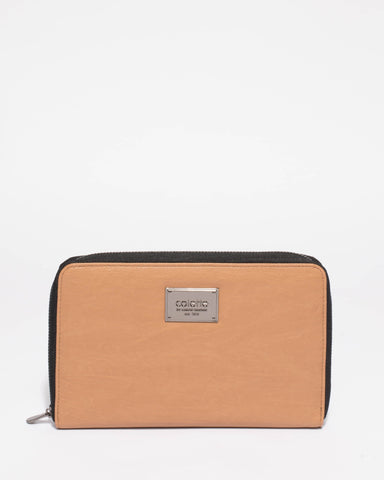 Talissa Plain Travel Wallet