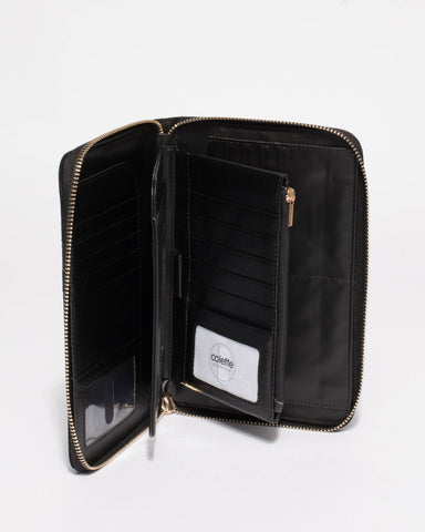 Talissa Panel Travel Wallet