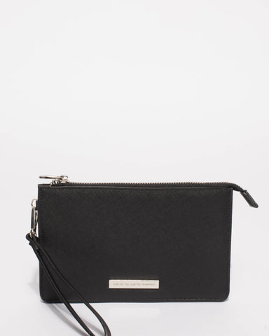 Black Milly Wristlet Purse