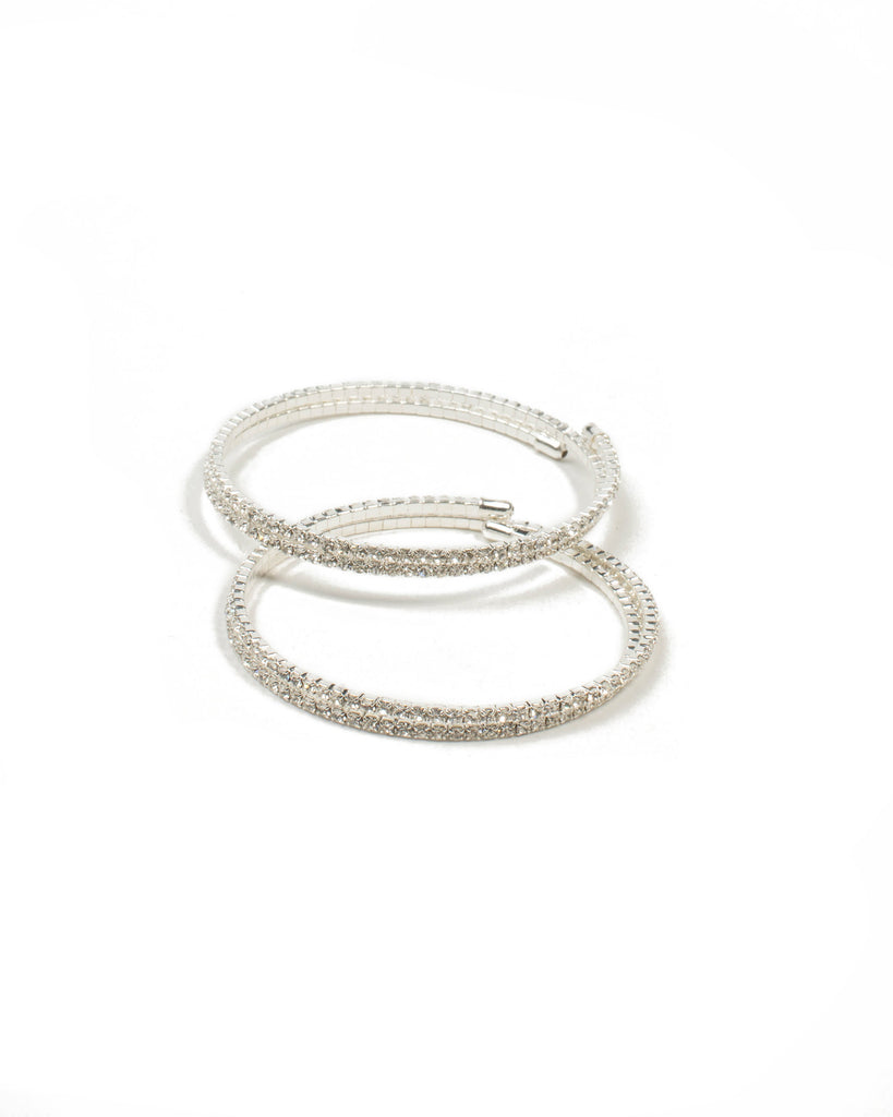 Diamante Chain Coil Wristwear