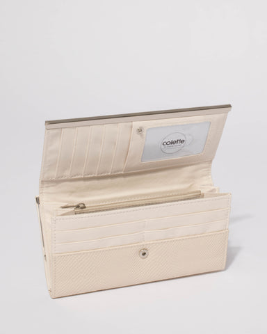 Ivory Kayla Panel Wallet