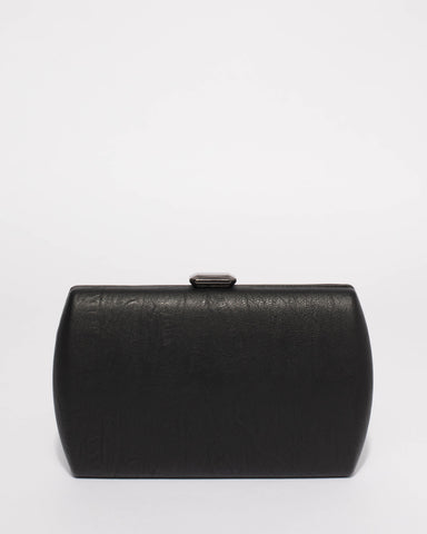 Black Ash Hardcase Clutch Bag