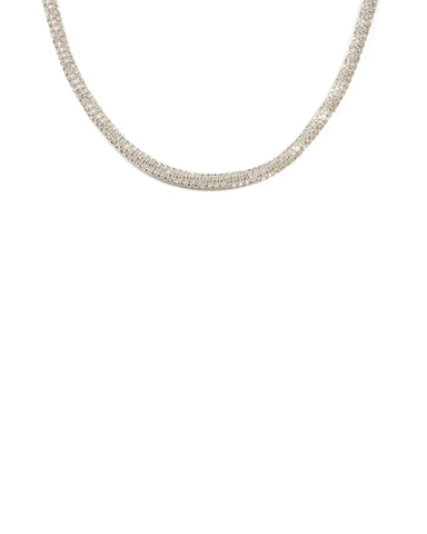 Diamante Stone Short Necklace