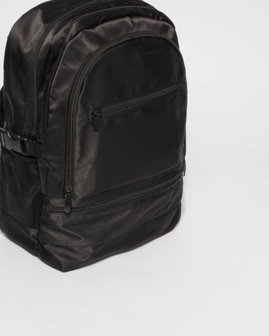 Black Lola Travel Backpack