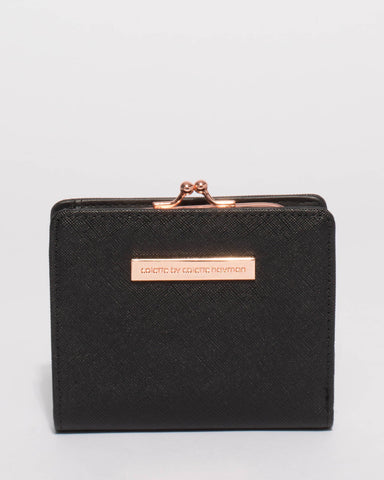 Black Serena Mini Wallet