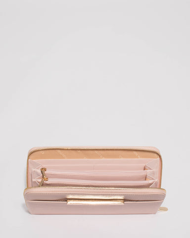 Pink Sandy Large Wallet