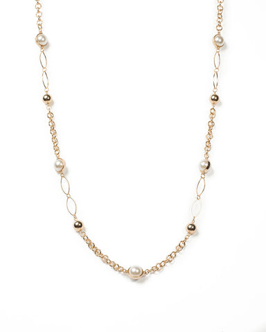 Ball And Chain Necklace