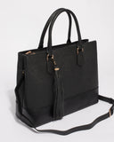Black Maria Office Laptop Tote Bag
