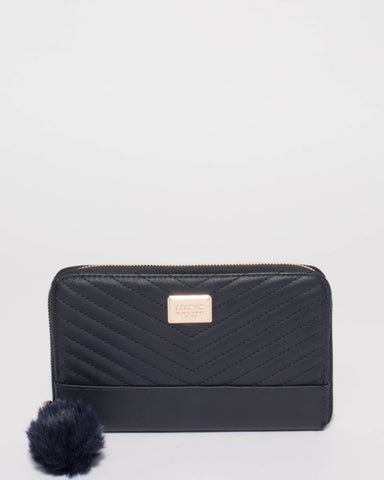 Nina Navy Travel Wallet
