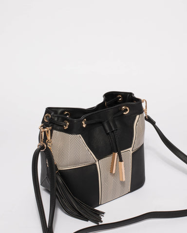 Monochrome Luxy Bucket Bag