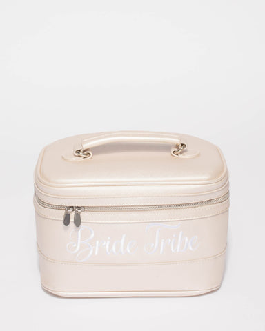 Ivory Bride Tribe Cosmetic Case