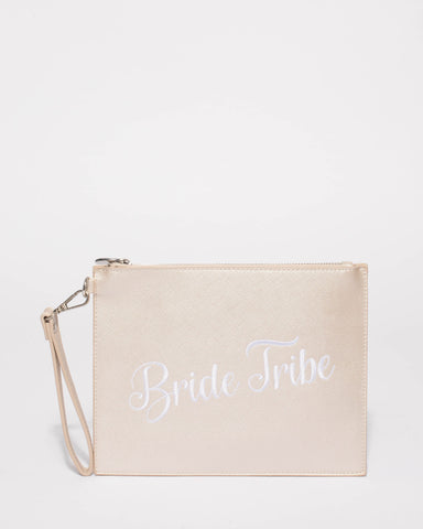 Ivory Bride Tribe Clutch Bag