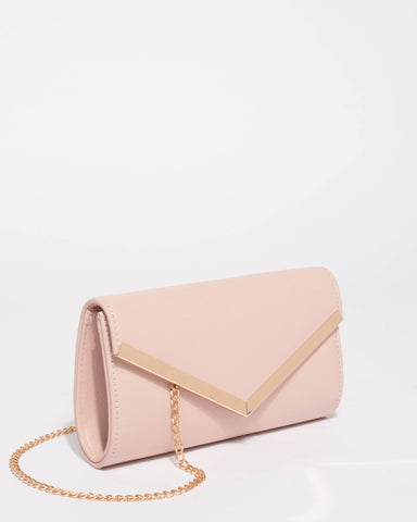 Pink Maid of Honour Cindy Clutch Bag