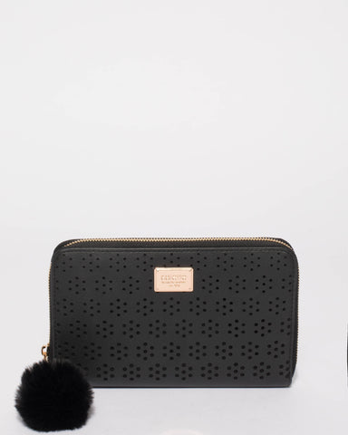 Nina Flower Travel Wallet