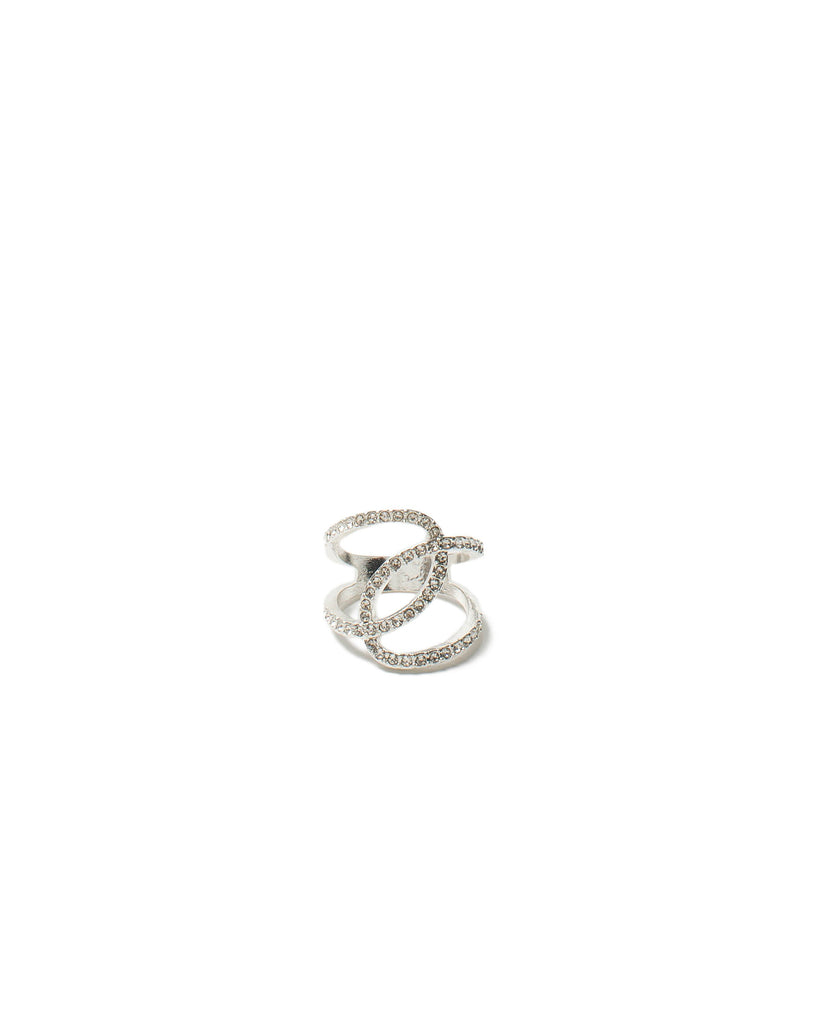 Diamante Loop Ring - Large