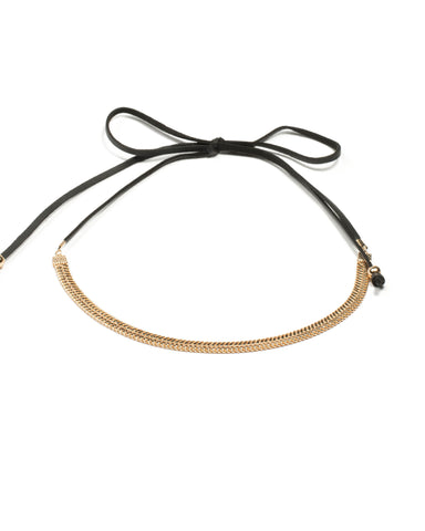 Arrow Chain Cord 2 Pack Choker Necklace