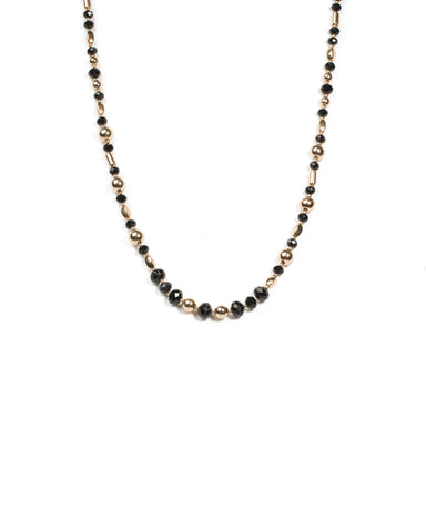 Stationed Beaded Necklace