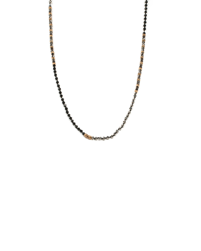 Beaded Long Rope Necklace