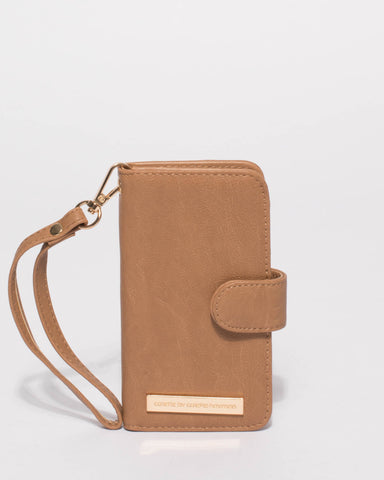 Caramel Smooth Iphone 6, 7 & 8 Purse