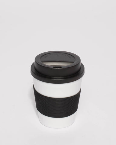 Black Travel Coffee Cup